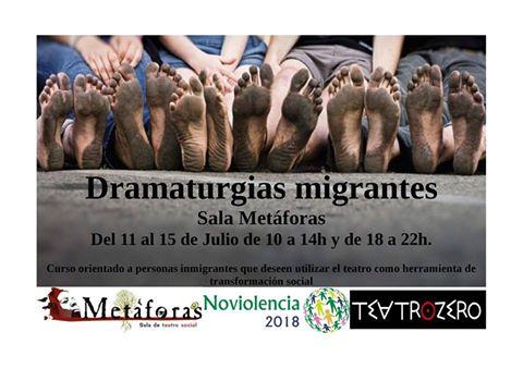 dramaturgias migrantes cartel