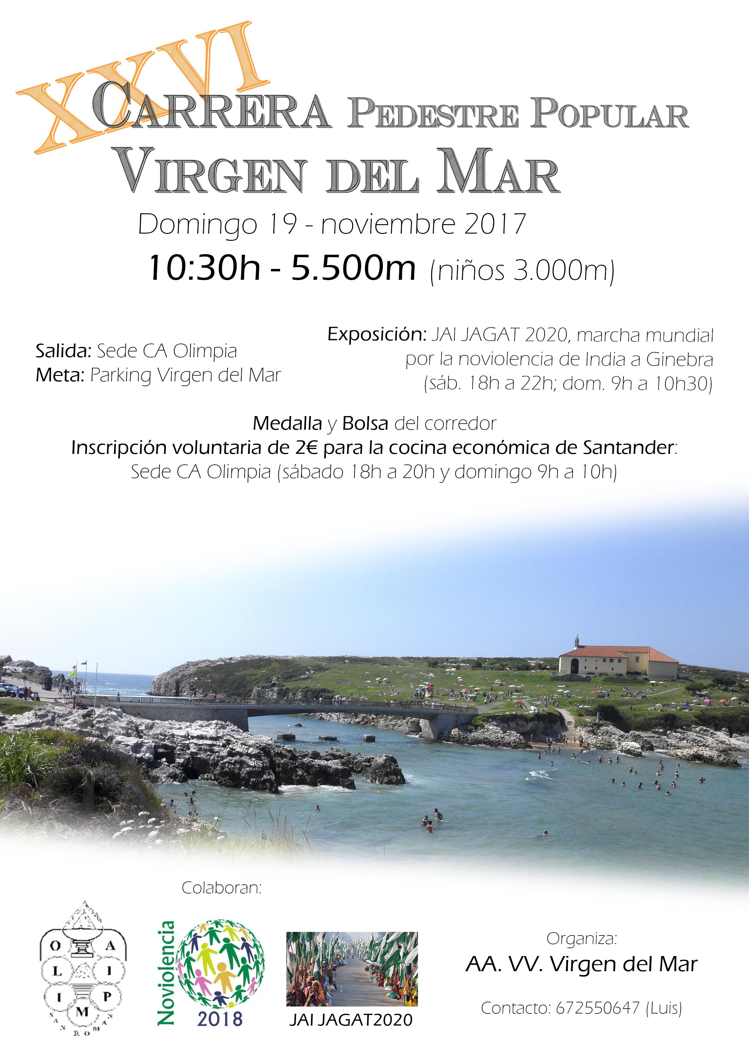 Santander xxvi carrera pedestre popular virgen del mar - Cocina economica santander ...